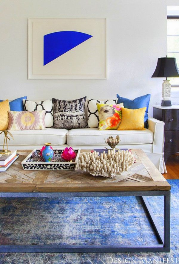 Outstanding eclectic interiors in Tvoy Designer Blog #eclectic #interior #design