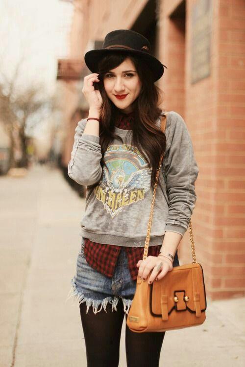 Fall Indie fashion | [Alternative] | Pinterest