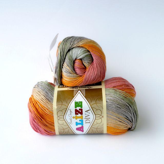 Alize Díva - batik 3679