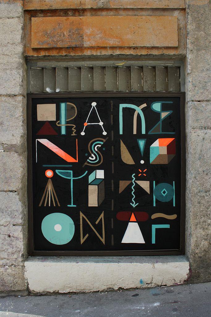 by French Graffiti Artist Nelio