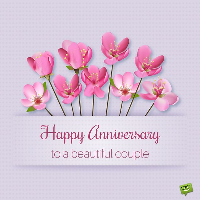 Sharing a Happy Anniversary Image will prove that you share the excitement that the other half (or the friendly couple) feels, so tell them that you care and it will certainly mean a lot to them.