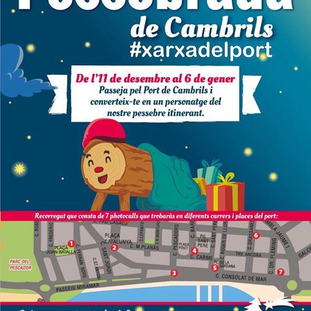 #divendres #11desembre #2015 et #comvidem a la #inauguració de la #primera #Pessebrada de la #xarxadelport al #portdecambrils #cambrils a les 18,00 hores.... Demà mes #informacio a les #xarxessocials #viernes #11diciembre #2015 te #invitamos a la #inauguración de la #primera #presentada de la #xarxadelport en el #puertodecambrils #Cambrils #Tarragona a la 18,00 horas... #mañaña más #información en las #redessociales #siguenos #facebook #twitter #instagram #turismecambrils