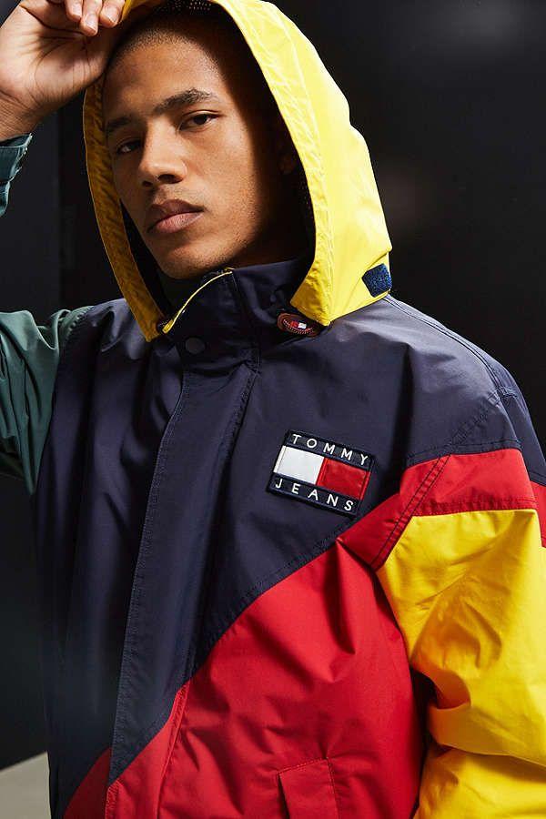 73ae0395 Tommy Hilfiger Colorblocked Sailing Jacket | C l o t h e s | Sailing ...