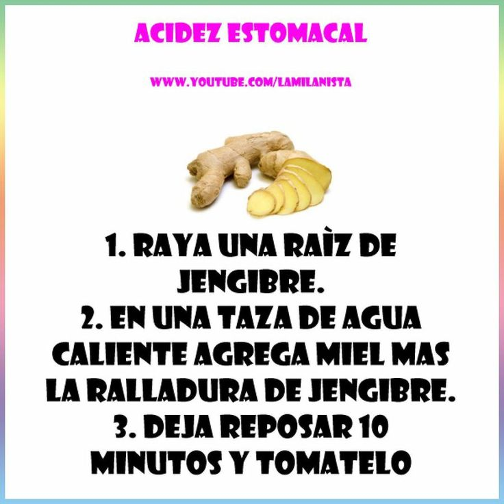 ¿Qué es la acidez estomacal? y remedios caseros para tratarla