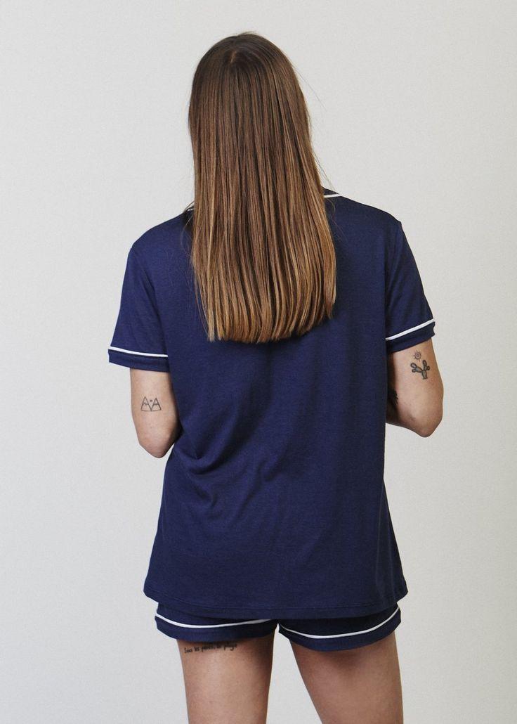 Joni Relaxed Pajama Short. Short and sweet. A basic relaxed pyjama short with elastic waistband.