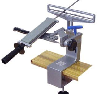 Knife sharpeners and knife sharpening techniques for the ...