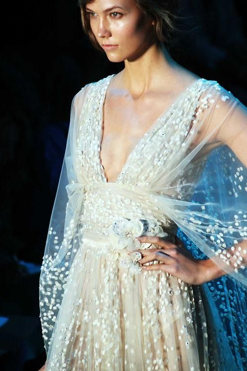 Elie Saab, for an elegant, whimsical bride // Pinned by Dauphine Magazine x Castlefield - Curated by Castlefield Bridal & Branding Atelier and delivering the ultimate experience for the haute couture connoisseur! Dauphine Magazine (luxury bridal and fashion crossover): www.dauphinemagazine.com, @dauphinemagazine on Instagram, and @dauphinemag on Pinterest • Visit Castlefield: www.castlefield.co and @ castlefieldco on Instagram / Luxury, fashion, weddings, bridal, style, art, design, dress…