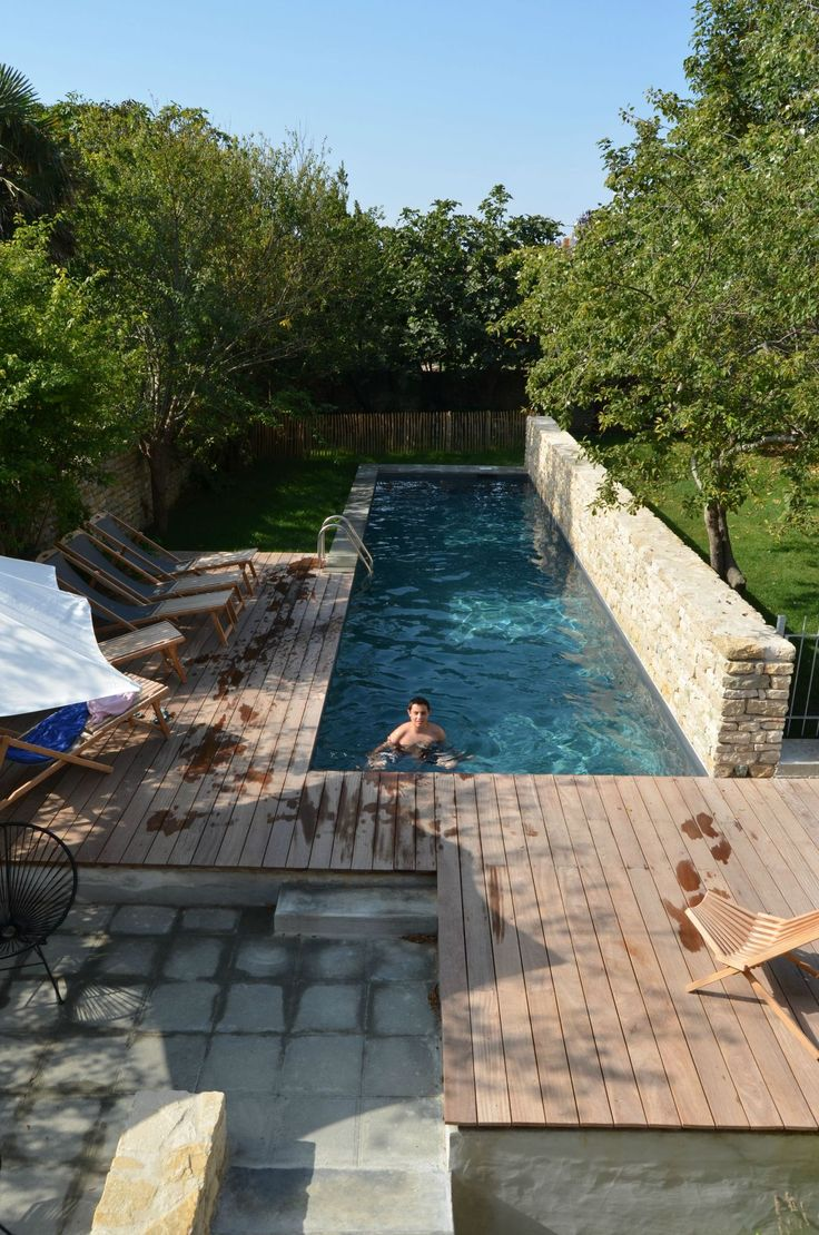 25 Meters And This Would Be Perfect Project Exterior Pinterest Swim Swimming And Backyards