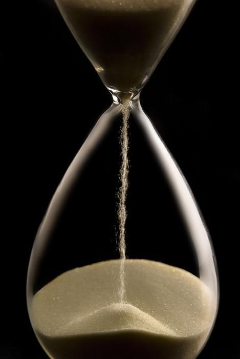 sand through the hour glass