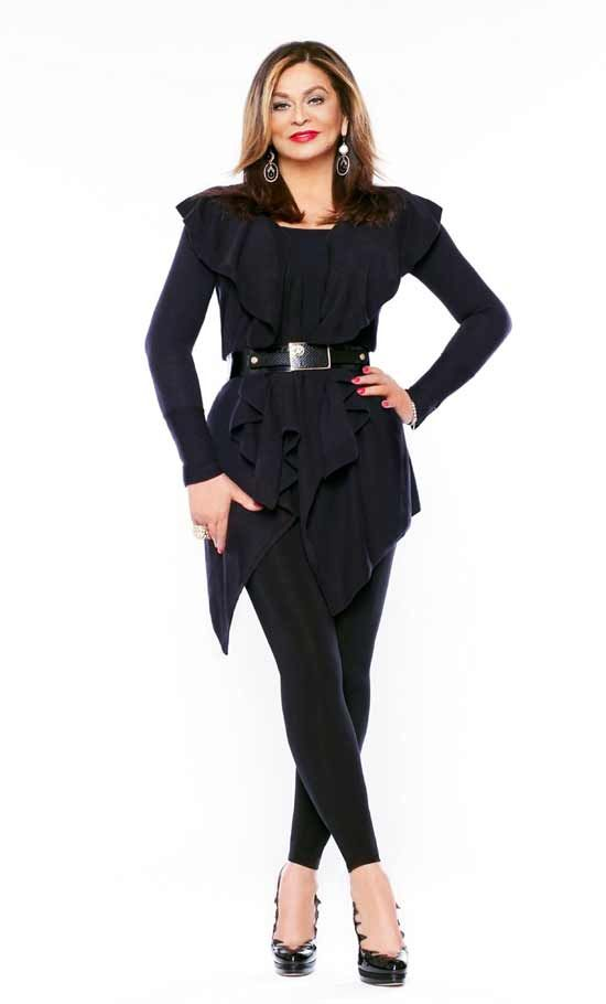 Tina Knowles  | Tina Knowles models an outfit from her new line of clothes for Wal ...