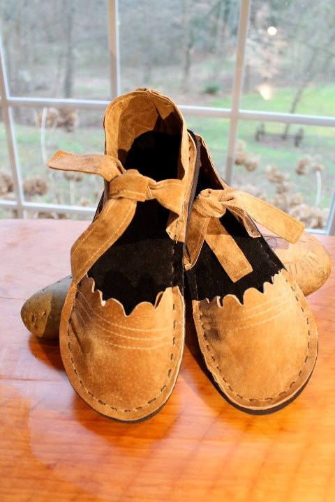 The Monks Shoe Recycled Leather Easy Handmade Shoe by JaneBawn, $12.00