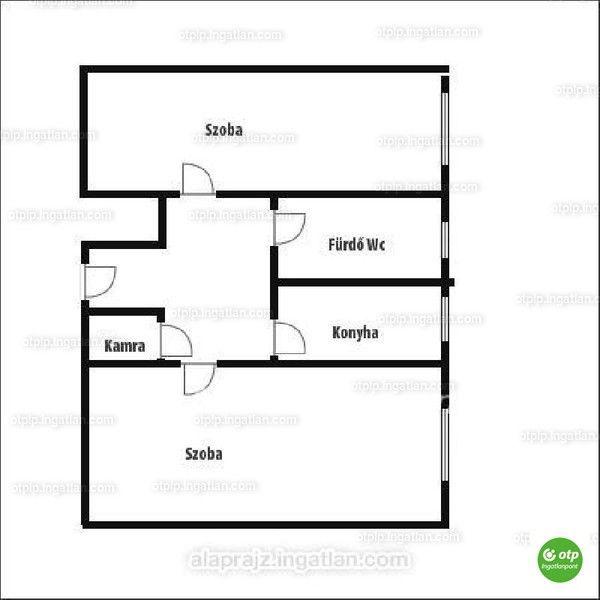 Borsod megye Miskolcon eladásra kínálunk az Álmos utcán 50nm.-es 2 szobás szigetelt tégla gázos lakást. Az ingatlan 4 emeletes épület 1 emeletén...