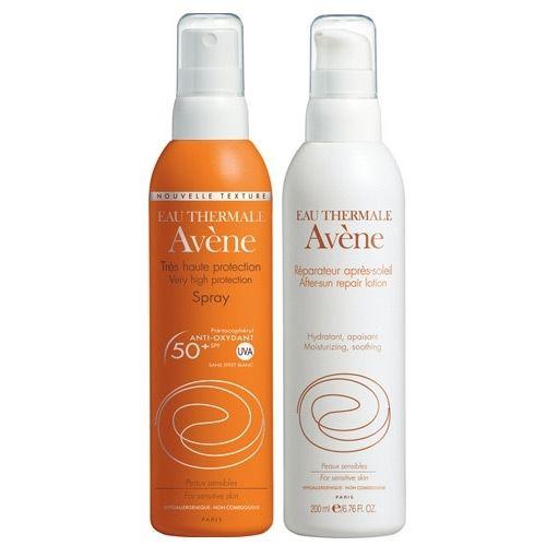 Avene Very High Protection Spf+50 Sprey + After Sun 200ml Hediyeli | 72,74 TL | Dermoeczanem.com online dermokozmetk sitesinde. Bu yüksek koruyuculu güneş spreyi ve güneş sonrasında cildinize bakım yapacak olan Avene After Sun spreyi ile güneşin tadını doyasıya çıkartın.