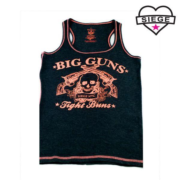 Siege Fitness / Women's Big Guns Tight Buns Tank
