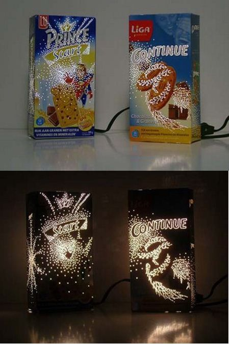 cereal box light