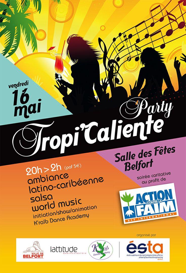 ESTA - Belfort  Soirée caritative au profit de Action contre la Faim, organisée par l'ESTA Belfort et soutenue par L'attitude 90. A vos agendas !