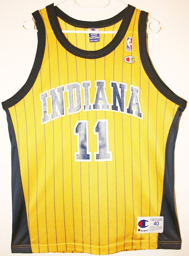 Champion NBA Basketball Indiana Pacers #11 Jamaal Tinsley Trikot / Jersey Size 40 - Größe M - 89,90€ #nba #basketball #trikot #jersey #ebay #etsy #hood #sport #fitness #fanartikel #merchandise #usa #america #fashion #mode #collectable #memorabilia #allbigeverything