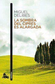 """1947: """"La sombra del ciprés es alargada"""" de Miguel Delibes. http://kmelot.biblioteca.udc.es/record=b1445994~S10*gag"""