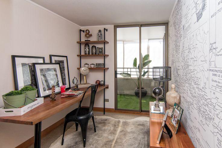 Dormitorio secundario piloto 93 m2 http://bit.ly/1CV3rOP