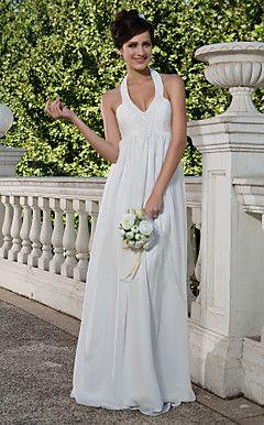 LONG BEACH - Vestido de Noiva em Chifon – BRL R$ 597,55