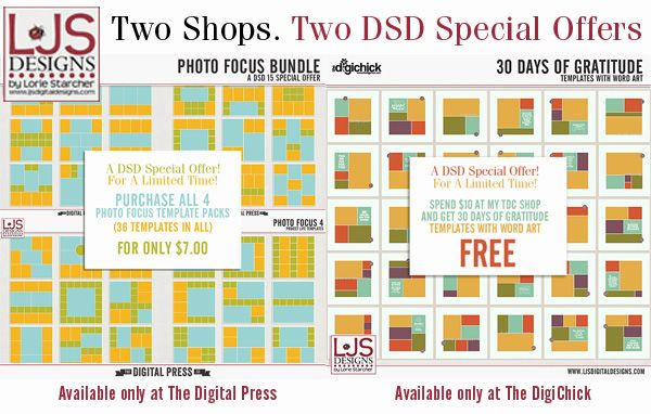 DSD coupon from LJS Designs!