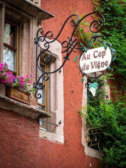 Au Cep de Vigne, Riquewihr, France by Bobrad