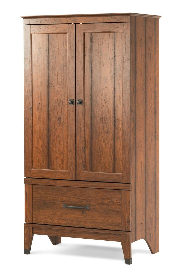 Jameson panel crib for sale - Child Craft Redmond Armoire Coach Cherry F02808 06