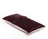 MrsMe cushion James Burgundy