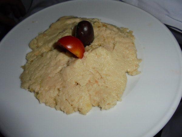 Skordalia (piure cu usturoi) - Bucataria cu noroc