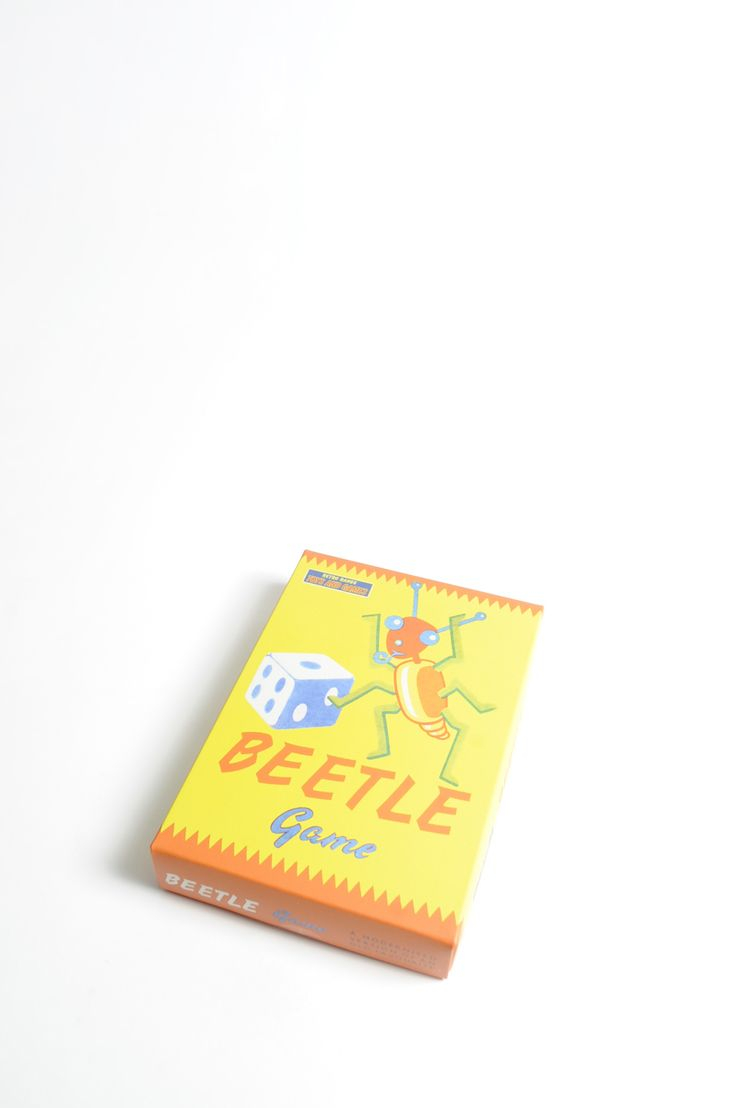 Beetle Game: Try and build your colourful beetle first, it's all down to the luck of the dice! Perfect as a traditional stocking filler.