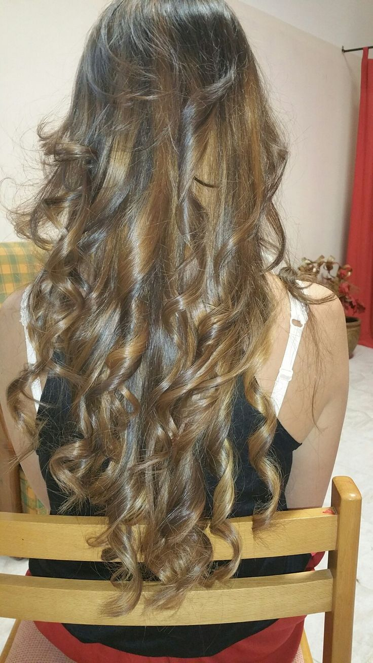 Sfumature capelli lunghi..