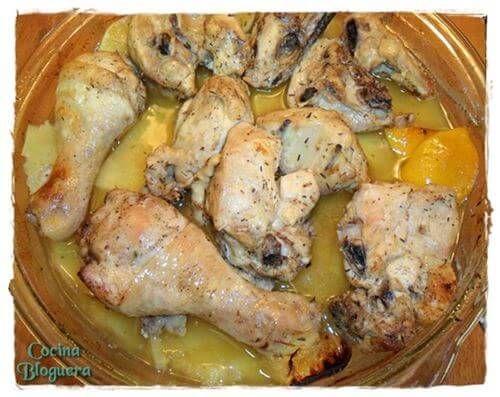 Pollo Troceado Especiado al Horno #Recordando http://blgs.co/5o9XWR