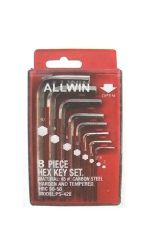 Kunci L set 8 Pcs - Allwin