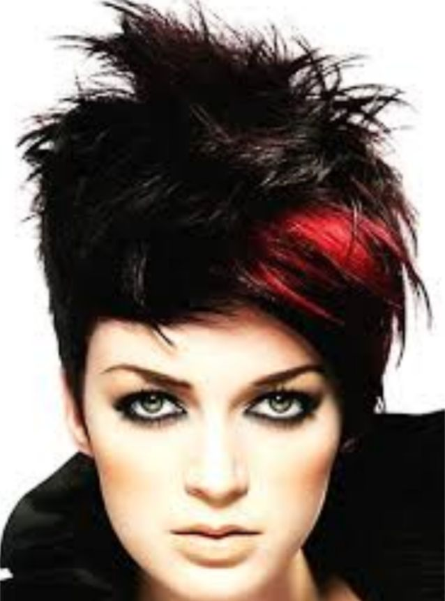 curvo llamada chica cabello rojo