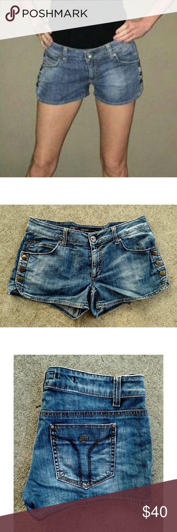 Miss Sixty jean shorts. Size 32 Super cute Miss Sixty disttessed shorts. Size 32 Miss Sixty Shorts Jean Shorts