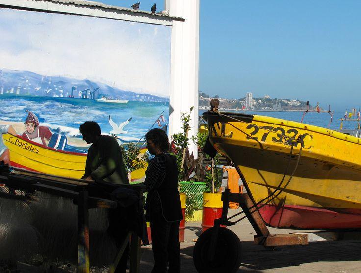 https://flic.kr/p/jjhuEW | Caleta Portales, Valparaíso