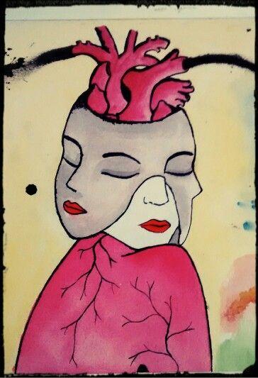 Mujer tripartita by Meow María