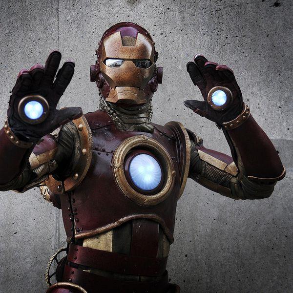 Marvel Costume Contest Winner - Iron Man in Steampunk style