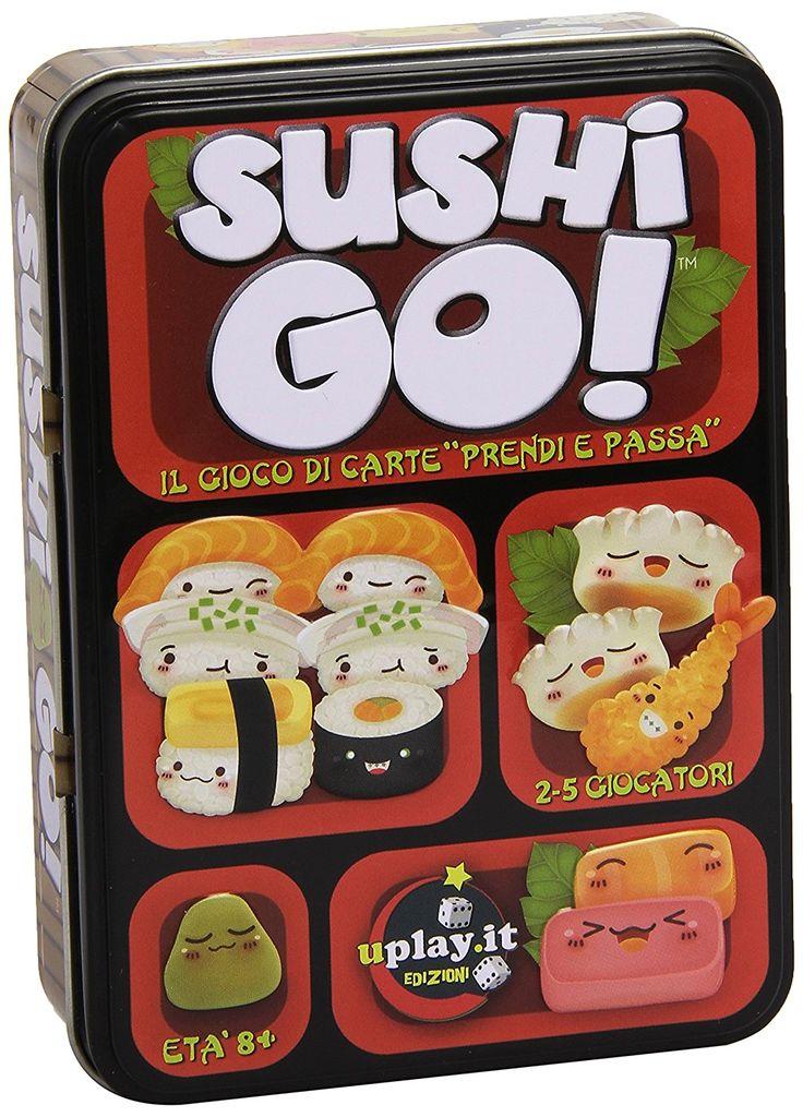 Sushi Go! è un simpatico gioco di carte che ha come tema uno dei tuoi piatti preferiti! Seguici su Facebook #eccoperchesonoalverde #ideeregalo #divertente #frasidivertenti