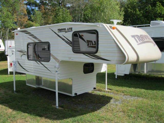 2016 New Travel Lite 800X Truck Camper in New Hampshire NH.Recreational Vehicle, rv, 2016 Travel Lite 800X, 2016 Travel Lite 800X Truck Camper Weight = 1,540 lbs - 25 gallons water Will fit 1/2-ton or larger, short or long bed, pickup trucks Standard Options: 18,000 BTU Furnace, Single Bowl Sink, 2 Burner Stovetop Included Options: 5 Cubic Ft. Refrigerator, Water Heater, Outside Shower, Granicote Kitchen Countertop and Table, Built-in Microwave, HD TV Antenna with built-in meter, Tan Molded…