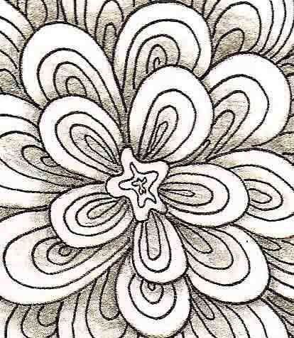 Easy Drawings Of Flowers Step By Step