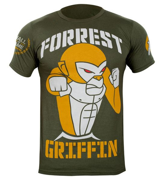Hayabusa Forrest Griffin hall of fame limited edition t shirt