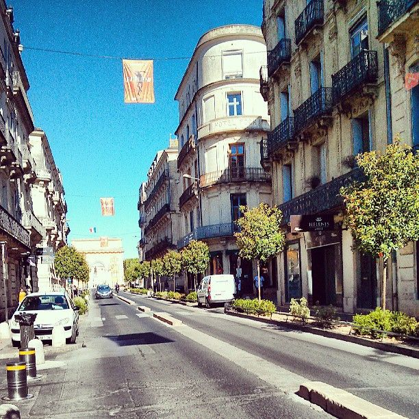 Montpellier à Languedoc-Roussillon