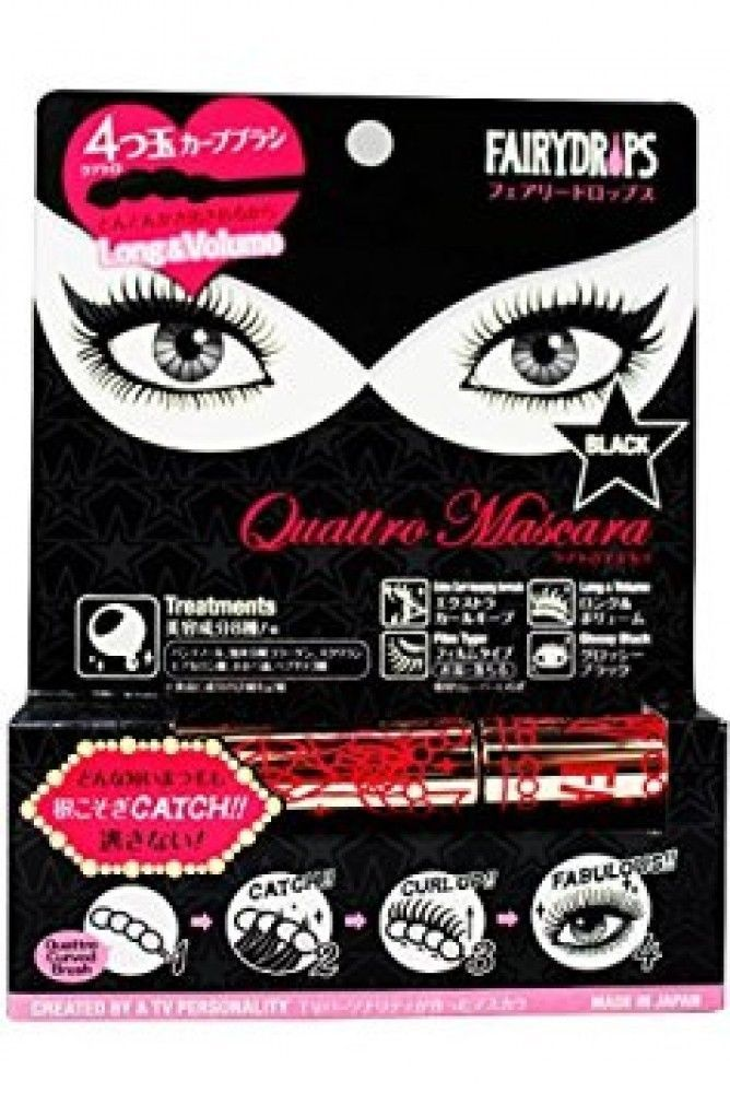 FAIRY DROPS Long & Volume Quattro Mascara Film Type