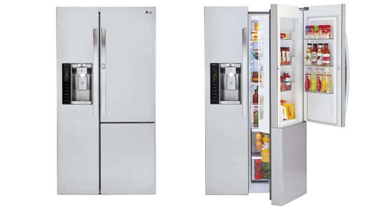 A Three Door Fridge With A Twist And We Love It Refrigerator