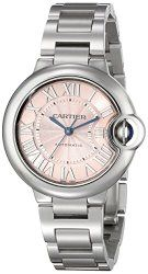 Cartier Women's W6920100 Analog Display Swiss Automatic Silver-Tone Watch