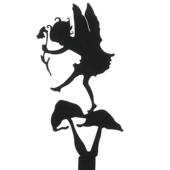 fairy cut out template - thumpkin fairy garden shadow silhouette fairy garden