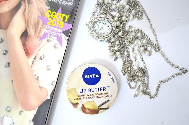 Lemme Swatch It!: REVIEW | Nivea Lip Butter