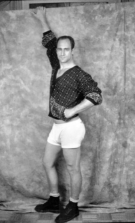 Christopher Meloni, AKA, Elliot Stabler from Law and Order SVU. Never saw this one coming! LOL