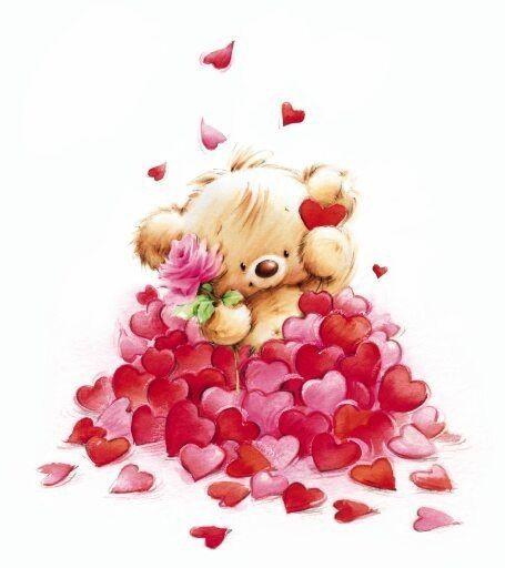 Sooooo ... viele Herzchen für meine Liebe! ❤